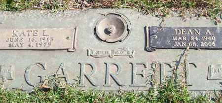 GARRETT, DEAN A. - Saline County, Arkansas | DEAN A. GARRETT - Arkansas Gravestone Photos