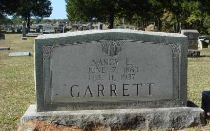 GLIDEWELL GARRETT, NANCY ERMINE - Saline County, Arkansas | NANCY ERMINE GLIDEWELL GARRETT - Arkansas Gravestone Photos
