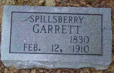 GARRETT, WILLIAM SPILLS BERRY - Saline County, Arkansas | WILLIAM SPILLS BERRY GARRETT - Arkansas Gravestone Photos