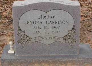 GARRISON, LENORA - Saline County, Arkansas | LENORA GARRISON - Arkansas Gravestone Photos