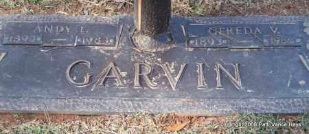 GARVIN, ANDY L. - Saline County, Arkansas | ANDY L. GARVIN - Arkansas Gravestone Photos