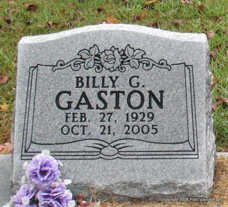 GASTON, BILLY G. - Saline County, Arkansas | BILLY G. GASTON - Arkansas Gravestone Photos