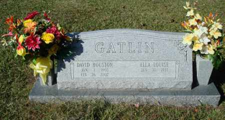GATLIN, DAVID HOUSTON - Saline County, Arkansas | DAVID HOUSTON GATLIN - Arkansas Gravestone Photos