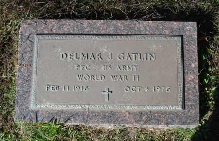 GATLIN (VETERAN WWII), DELMER J - Saline County, Arkansas | DELMER J GATLIN (VETERAN WWII) - Arkansas Gravestone Photos