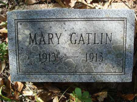 GATLIN, MARY E. - Saline County, Arkansas | MARY E. GATLIN - Arkansas Gravestone Photos