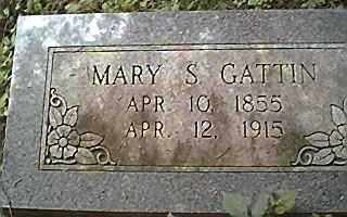 MCNEIL GATTIN, MARY SURILDA - Saline County, Arkansas | MARY SURILDA MCNEIL GATTIN - Arkansas Gravestone Photos