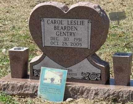 BEARDEN GENTRY, CAROL LESLIE - Saline County, Arkansas | CAROL LESLIE BEARDEN GENTRY - Arkansas Gravestone Photos