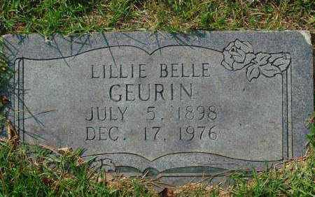 GEURIN, LILLIE BELLE - Saline County, Arkansas | LILLIE BELLE GEURIN - Arkansas Gravestone Photos