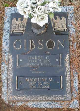 GIBSON, HARRY C. - Saline County, Arkansas | HARRY C. GIBSON - Arkansas Gravestone Photos