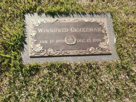 GIGGLEMAN, WINNIFRED - Saline County, Arkansas | WINNIFRED GIGGLEMAN - Arkansas Gravestone Photos