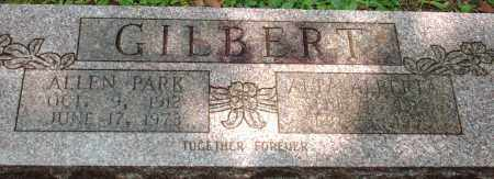 GILBERT, ALLEN - Saline County, Arkansas | ALLEN GILBERT - Arkansas Gravestone Photos