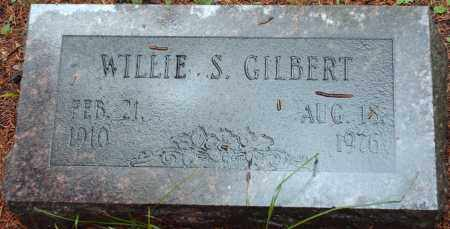 GILBERT, WILLIE - Saline County, Arkansas | WILLIE GILBERT - Arkansas Gravestone Photos