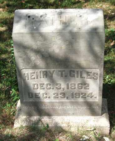 GILES, HENRY T. - Saline County, Arkansas | HENRY T. GILES - Arkansas Gravestone Photos