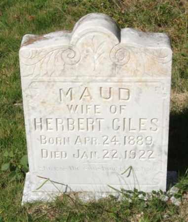 GILES, MAUD - Saline County, Arkansas | MAUD GILES - Arkansas Gravestone Photos