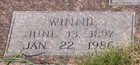 GILES, WINNIE (CLOSEUP) - Saline County, Arkansas | WINNIE (CLOSEUP) GILES - Arkansas Gravestone Photos