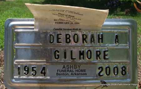 GILMORE, DEBORAH A. - Saline County, Arkansas | DEBORAH A. GILMORE - Arkansas Gravestone Photos
