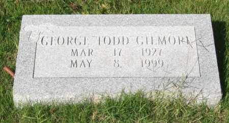 "GILMORE, GEORGE ""TODD"" - Saline County, Arkansas 