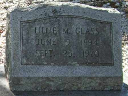 GLASS, LILLIE M. - Saline County, Arkansas | LILLIE M. GLASS - Arkansas Gravestone Photos