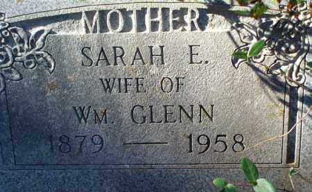 GLENN, SARAH E - Saline County, Arkansas | SARAH E GLENN - Arkansas Gravestone Photos