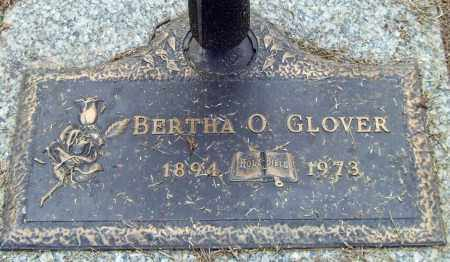 GLOVER, BERTHA O. - Saline County, Arkansas | BERTHA O. GLOVER - Arkansas Gravestone Photos