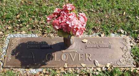 GLOVER, SAMUEL A. - Saline County, Arkansas | SAMUEL A. GLOVER - Arkansas Gravestone Photos