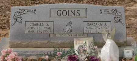 GOINS, BARBARA J. - Saline County, Arkansas | BARBARA J. GOINS - Arkansas Gravestone Photos