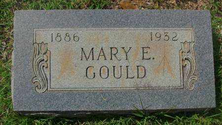 GOULD, MARY E - Saline County, Arkansas | MARY E GOULD - Arkansas Gravestone Photos
