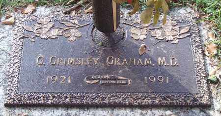 GRAHAM, G. GRIMSLEY - Saline County, Arkansas | G. GRIMSLEY GRAHAM - Arkansas Gravestone Photos