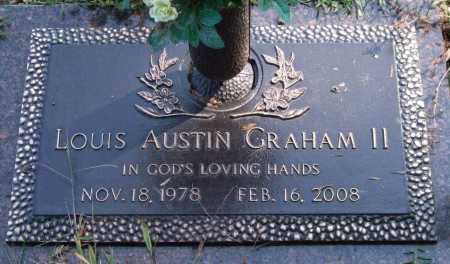GRAHAM, II, LOUIS AUSTIN - Saline County, Arkansas | LOUIS AUSTIN GRAHAM, II - Arkansas Gravestone Photos