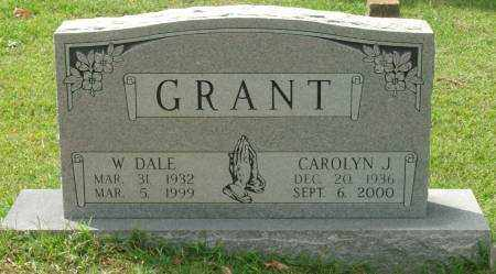 GRANT, CAROLYN J - Saline County, Arkansas | CAROLYN J GRANT - Arkansas Gravestone Photos