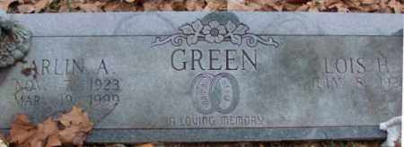 GREEN, ARLIN A. - Saline County, Arkansas | ARLIN A. GREEN - Arkansas Gravestone Photos