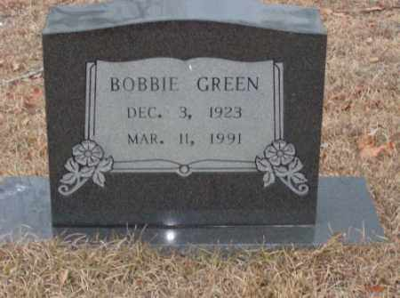 GREEN, BOBBIE - Saline County, Arkansas | BOBBIE GREEN - Arkansas Gravestone Photos