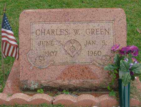 GREEN, CHARLES W. - Saline County, Arkansas | CHARLES W. GREEN - Arkansas Gravestone Photos