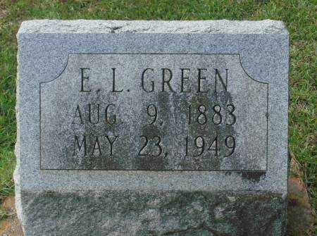 GREEN, E. L. - Saline County, Arkansas | E. L. GREEN - Arkansas Gravestone Photos