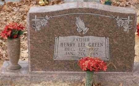 GREEN, HENRY LEE - Saline County, Arkansas   HENRY LEE GREEN - Arkansas Gravestone Photos