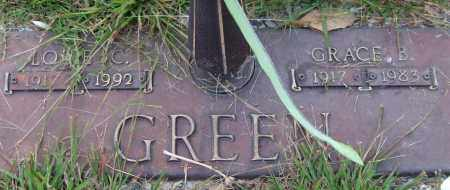 GREEN, GRACE B. - Saline County, Arkansas | GRACE B. GREEN - Arkansas Gravestone Photos
