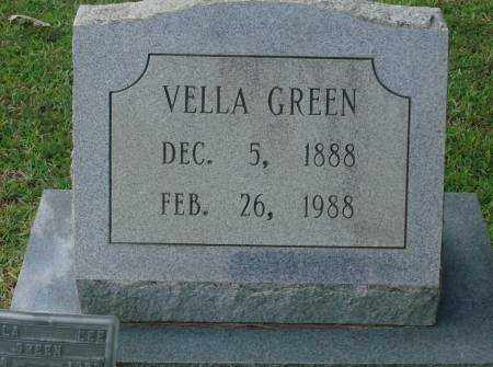 GREEN, VELLA - Saline County, Arkansas | VELLA GREEN - Arkansas Gravestone Photos