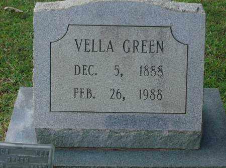 GREEN, VELLA - Saline County, Arkansas | VELLA GREEN - Arkansas Gravestone Photos