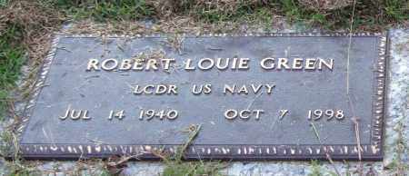GREEN (VETERAN), ROBERT LOUIE - Saline County, Arkansas | ROBERT LOUIE GREEN (VETERAN) - Arkansas Gravestone Photos