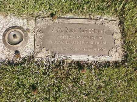 "GREENLEE, A.M. ""ABE"" - Saline County, Arkansas 