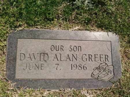 GREER, DAVID ALAN - Saline County, Arkansas | DAVID ALAN GREER - Arkansas Gravestone Photos
