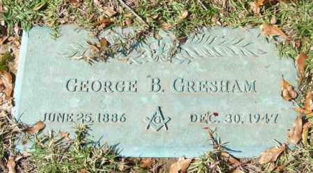 GRESHAM, GEORGE B. - Saline County, Arkansas | GEORGE B. GRESHAM - Arkansas Gravestone Photos