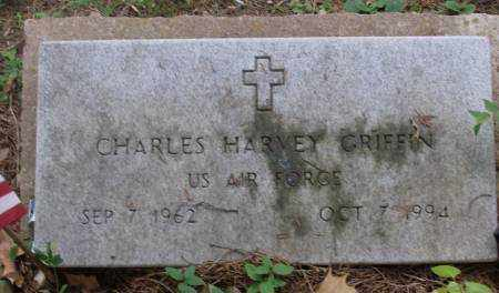 GRIFFIN (VETERAN), CHARLES HARVEY - Saline County, Arkansas | CHARLES HARVEY GRIFFIN (VETERAN) - Arkansas Gravestone Photos