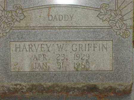 GRIFFIN, HARVEY W. - Saline County, Arkansas | HARVEY W. GRIFFIN - Arkansas Gravestone Photos