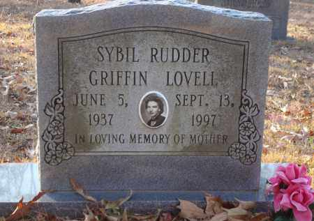 RUDDER GRIFFIN, SYBIL - Saline County, Arkansas | SYBIL RUDDER GRIFFIN - Arkansas Gravestone Photos