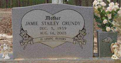 STAILEY GRUNDY, JAMIE SUE - Saline County, Arkansas | JAMIE SUE STAILEY GRUNDY - Arkansas Gravestone Photos
