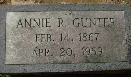 GUNTER, ANNIE R. - Saline County, Arkansas | ANNIE R. GUNTER - Arkansas Gravestone Photos