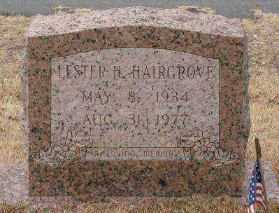 HAIRGROVE, LESTER H - Saline County, Arkansas | LESTER H HAIRGROVE - Arkansas Gravestone Photos