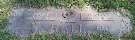 HALL, FRANK C. - Saline County, Arkansas | FRANK C. HALL - Arkansas Gravestone Photos