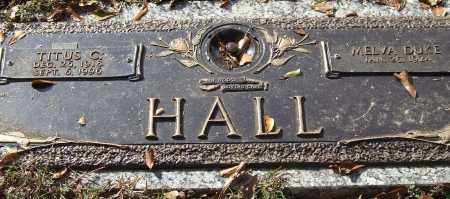 HALL, TITUS C. - Saline County, Arkansas | TITUS C. HALL - Arkansas Gravestone Photos